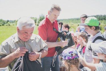 Pomysł na wakacje, czyli Kolorowa Lokomotywa Łódzkiego Domu Kultury świętuje półmetek