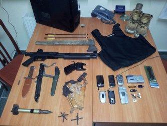 Radomsko: 23-latek zrobił z domu arsenał
