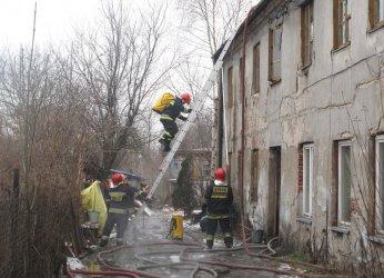 Pożar kamienicy w Piotrkowie (AKTUALIZACJA)