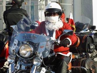 Mikołaje wsiedli na motocykle
