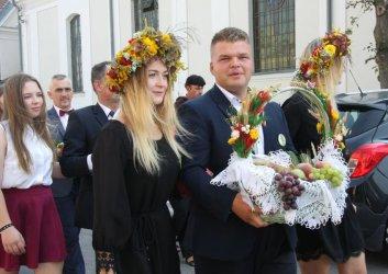 Dożynki gminno-parafialne w Wolborzu