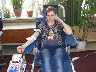 Piotrków: Uczniowie honorowo oddali krew