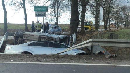 Zderzenie w Milejowie, 2 osoby ranne