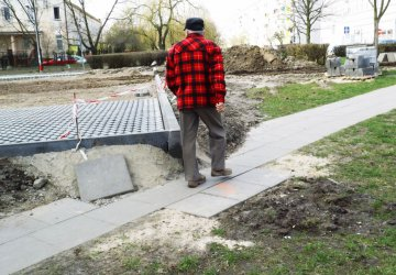 Ul. Belzacka: Fuszerka przy budowie parkingu?