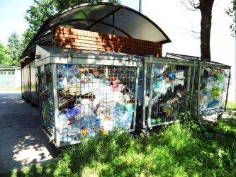 Nie można wyrzucić dużych śmieci
