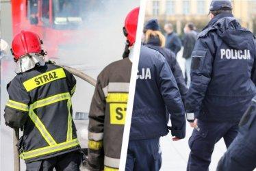 Po 300 tys. zł na sprzęt dla straży pożarnej i policji