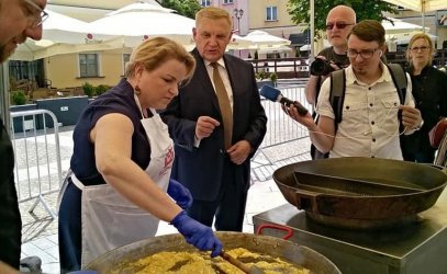 Katarzyna Bosacka gwiazdą Trybunalskiego Festiwalu Smaku