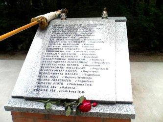 70 lat temu Niemcy zamordowali tam 52 osoby