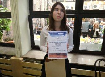 Olga Grabara z Piotrkowa finalistką konkursu