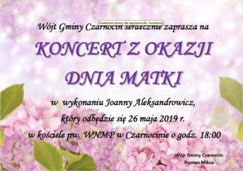 Czarnocin: Koncert z okazji Dnia Matki