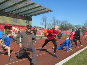 Biegacze wrócili na stadion