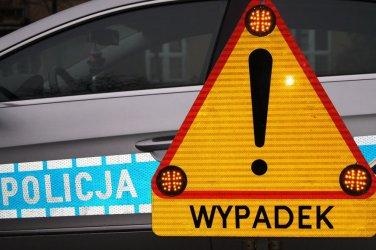 S8 zablokowana po wypadku. Kolizja na Krakowskim Przedmieściu