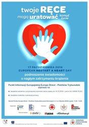 W poniedziałek będziemy obchodzić Europejski Dzień Przywracania Czynności Serca