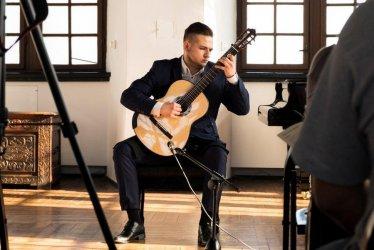 Recital gitarowy w piotrkowskim Muzeum