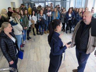 Dzień otwarty w KMP w Piotrkowie