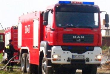 Strażacy usuwali groźne chemikalia