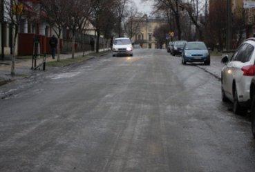 Fatalne warunki do jazdy na drogach miasta i regionu