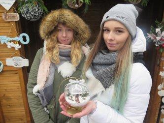 Bombki w koronkach i domki w bombkach czyli piotrkowski jarmark świąteczny