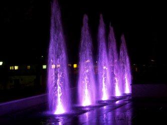 W Piotrkowie testowali nową fontannę