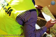 Tomaszowscy policjanci rozbili kontrabandę
