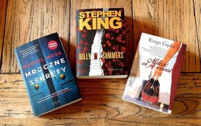 Książka na weekend - Nowe powieści Marcela Mossa i Stephena Kinga