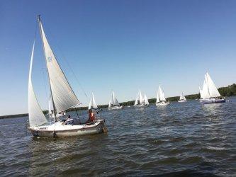 Parada jachtów znów popłynie przez Zalew Sulejowski