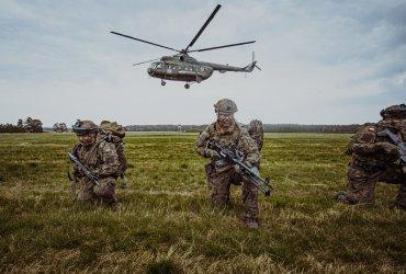 Terytorialsi szkolili się z kawalerią powietrzną