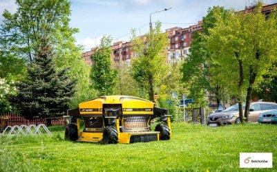 W Bełchatowie trawa kosi się sama?