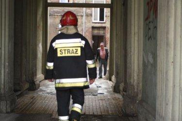 Pożar kamienicy w al. 3 Maja - postępowanie umorzone