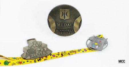 Medale odlewane - rozwiązanie dla firm i organizatorów wydarzeń sportowych
