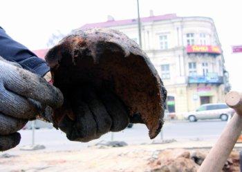 Remont Słowackiego: Odkryto ludzkie szczątki