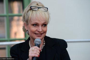 Adrianna Biedrzyńska na spotkaniu z piotrkowską publicznością