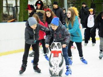 Miejskie lodowisko w Piotrkowie już otwarte