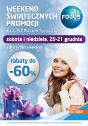 Weekend Świątecznych Promocji w Focus Mall