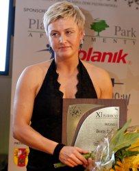Beata Skura najlepszym sportowcem 2010 roku