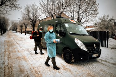 Terytorialsi poprowadzą Mobilny Zespół Szczepienny