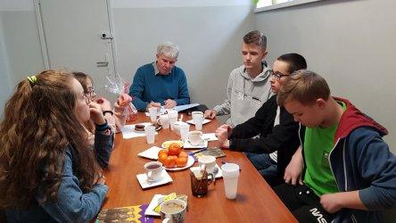 Szkoła Podstawowa w Goleszach Dużych  z Certyfikatem Szkoły Demokracji
