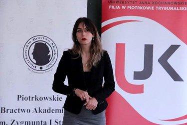 Studentka UJK zdobyła stypendium ministra
