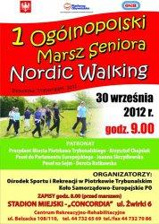 I Ogólnopolski Marsz Seniora Nordic Walking