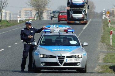 Wzmożone kontrole policji na drogach województwa