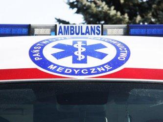 Wypadek w Cekanowie; 4 osoby ranne
