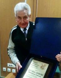 Złoty Medal dla pilota z piotrkowskiego Aeroklubu