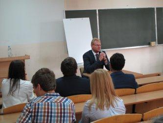 Wiceminister finansów z wizytą w Piotrkowie