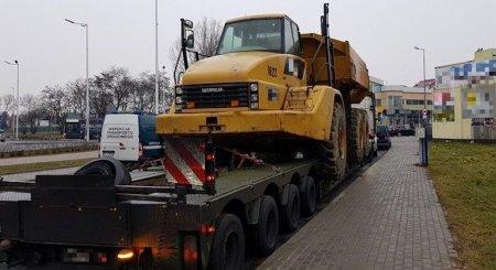 Kolejny przeciążony pojazd zatrzymany na ulicach Piotrkowa