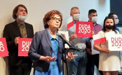 Marszałek Sejmu zachęcała do głosowania