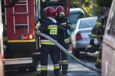 Mężczyzna zginął w pożarze garażu