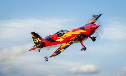 To była gratka dla fanów lotnictwa i podniebnej fotografii