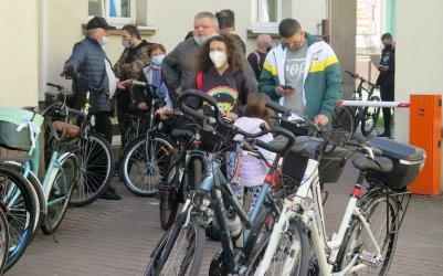Straż Miejska znakowała rowery. Chętnych nie brakowało