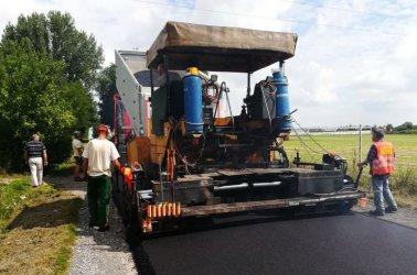 Gmina Wola Krzysztoporska: Trwa remont ponad 8 km dróg gminnych
