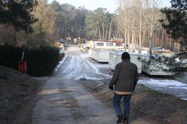 Zalew Sulejowski bez portu u Łysego